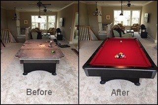 Pool table installations in Balcones Heights