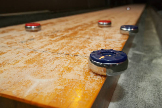 SOLO® Shuffleboard Movers Balcones Heights, Texas.